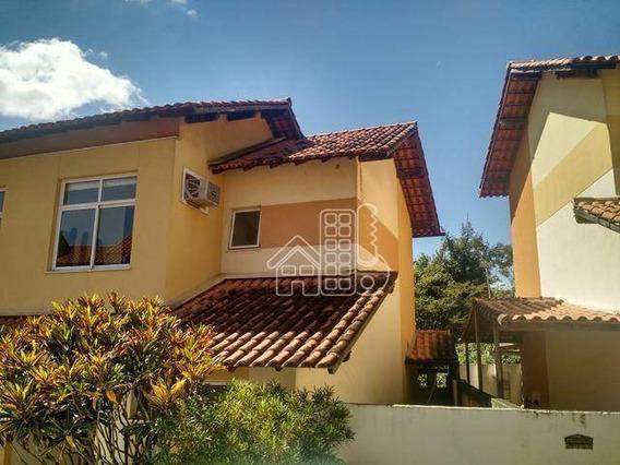 Casa Com 2 Dormitórios À Venda, 71 M² Por R$ 260.000,00 - Maria Paula - Niterói/rj - Ca1164