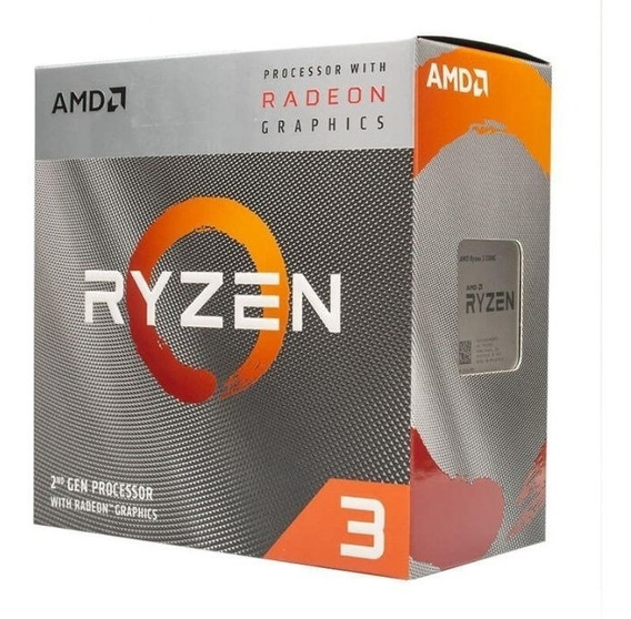 Processador Amd Ryzen 3 3200g 3.6ghz Cache 6mb Lançamento