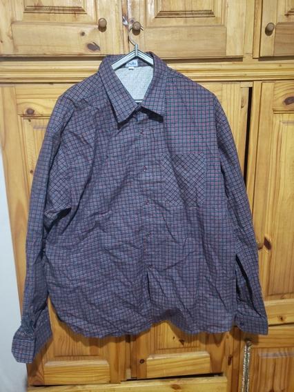 Camisa Manga Larga, Xl Tipo Escocesa