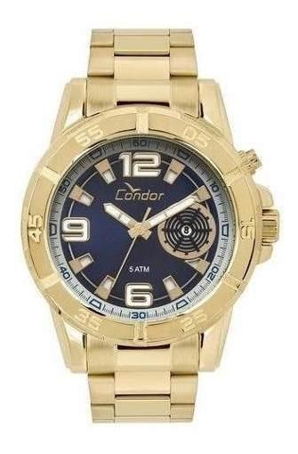 Oferta Relógio Condor Masculino Dourado Co2317aa/4p