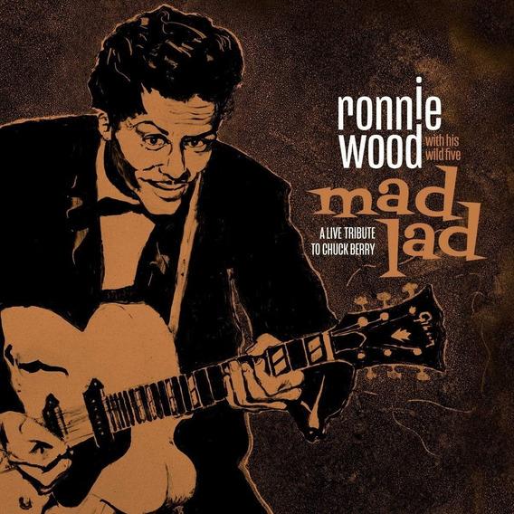 Ronnie Wood Mad Lad Tribute To Chuck Berry Vinilo Nuevo Imp