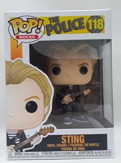 Funko Pop Rocks 118 Sting The Police