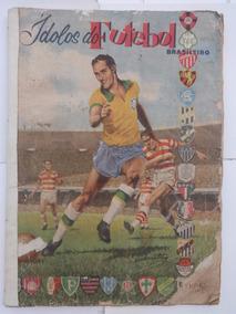 Álbum De Figurinhas Ídolos Do Futebol Brasileiro - Completo