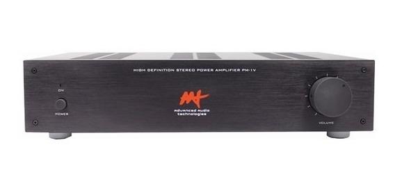 Amplificador De Potência Aat Pm-1v (2x 70w) Rms Bi-volt