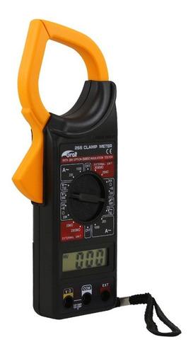 Imagen 1 de 8 de Pinza Amperometrica Digital Dt-266 Multimetro Tester