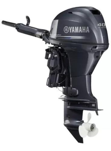 Motor De Popa Yamaha 40 Hp Fehds 4 Tempos Okm 12 X Cartao