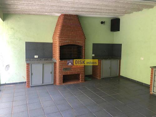 Imagem 1 de 30 de Sobrado Com 3 Dormitórios - Venda Por R$ 850.000,00 Ou Aluguel Por R$ 3.350,00/mês - Vila Gonçalves - São Bernardo Do Campo/sp - So0641