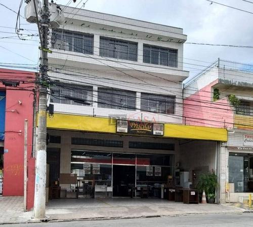 Imagem 1 de 14 de Salão Para Alugar, 627 M² Por R$ 25.000,00/mês - Itaim Paulista - São Paulo/sp - Sl0047