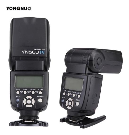 Flash Yongnuo Yn560 Iv, Canon, Nikon, Pronta Entrega!!