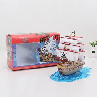 Miniatura Barco Shanks Force Red Pirate One Piece Com Caixa