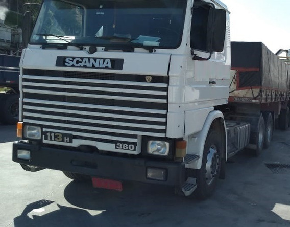 Scania R 113 360 - 6x2 - 1995 - T. Baixo - Primeiro Caminhão