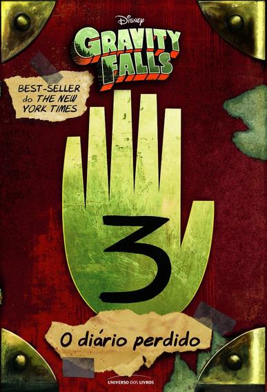 Livro O Diário Perdido De Gravity Falls 3 - Capa Dura