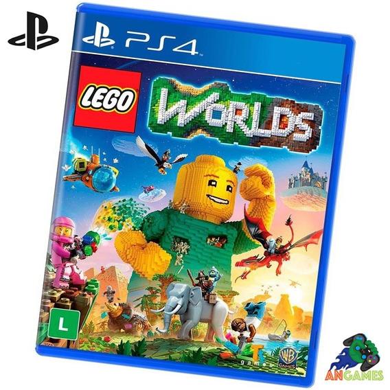 Lego Worlds Ps4 Playstation Pronta Entrega Lacrado