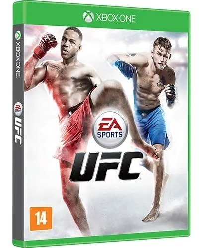 Jogo Xbox One Ufc Midia Fisica Novo Lacrado