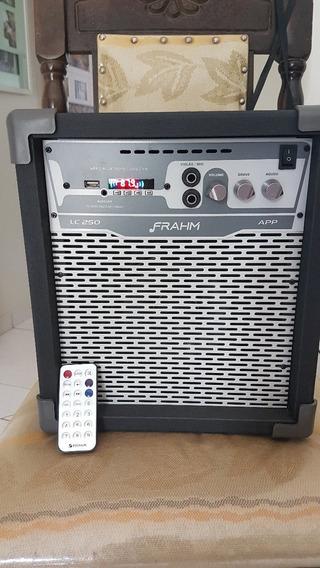 Caixa De Som Amplificada Multiuso Frahm Lc 250 App