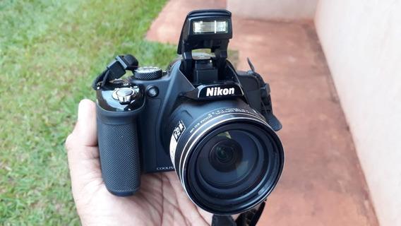 Câmera Nikon Coolpix P520 18.1 Mp 42x - Semi Profissional