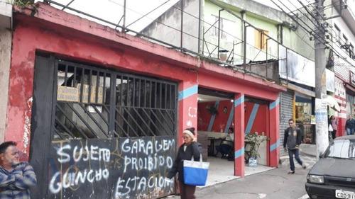 Imagem 1 de 30 de Casa Térrea Com 3 Dormitórios Com Edícula Nos Fundos E Ponto Comercial Na Frente - Ca0791