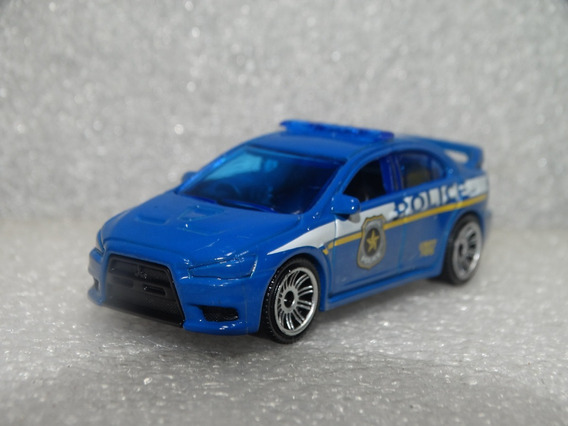 Mitsubishi Lancer Evolution X Policia Matchbox 1:64 Loose