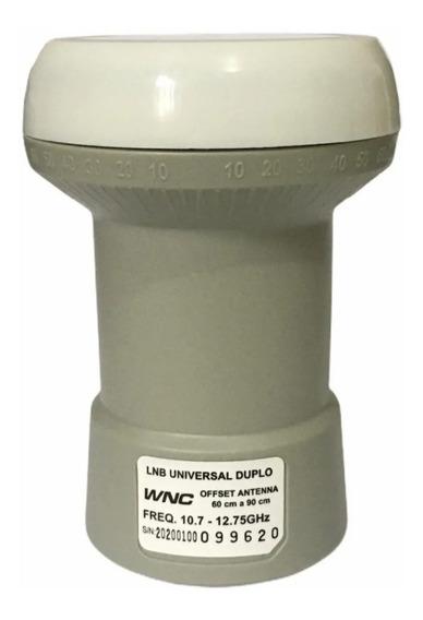 Kit Com 10 Lnb Duplo Universal Wnc