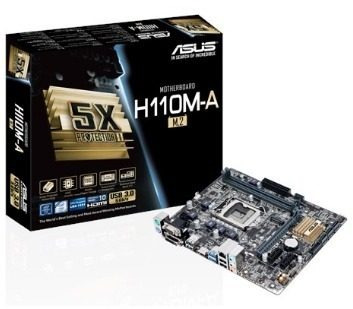 Kit Placa Mae Asus H110m Core I7 7700 4.2ghz 8gb Ddr4