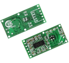 Módulo Radar Doppler Microondas Sensor Movimento Rcwl-0516
