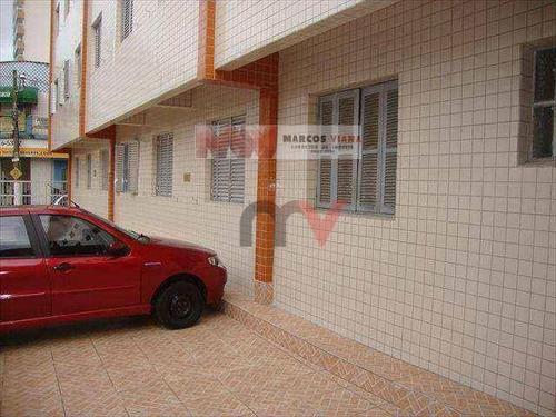 Apartamento À Venda, 55 M² Por R$ 220.000,00 - Boqueirão - Praia Grande/sp - Ap0672