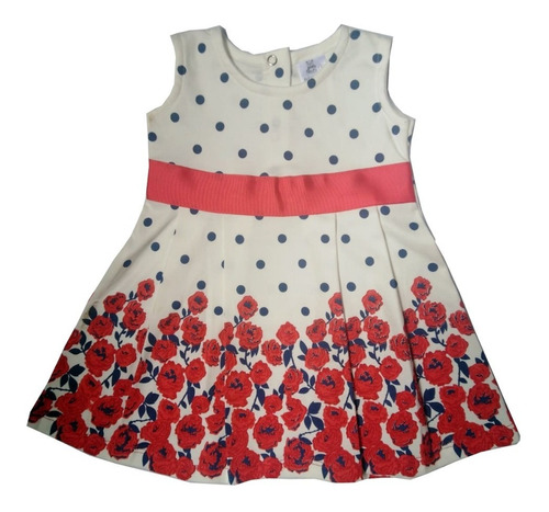 Vestido De Niña Ajuar Ropa De Bebe Florencia