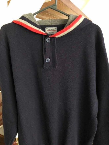Sweater De Hombre Canguro Marca Soho Impecable!! Talle L