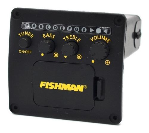 Micrófono Ecualizador Fishman Sintonizador Guitarra Acústica