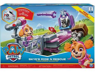 Paw Patrol Sky Vehículo Con Figuras Y Lanzador Caffaro 60467