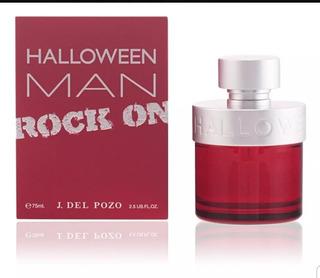 Perfume Importado Halloween Man Rock On 75 Ml