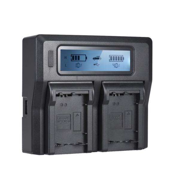 Carregador Duplo Rápido Sony Fz100 9r A9r 9s A9s Alpha Dual