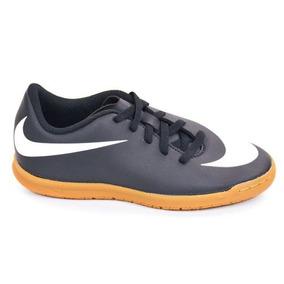 E Tênis Futsal Jr Bravata Ii Preto/bco 31a36 Nike 88895