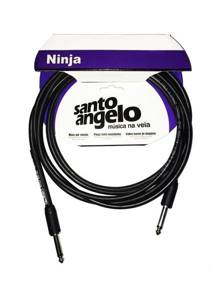 Cabo Santo Angelo Violão Guitarra Baixo P10 P10 4,57m Oferta