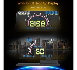 Universal H6 Smartphone Projetor Display Hud Suporte Carro