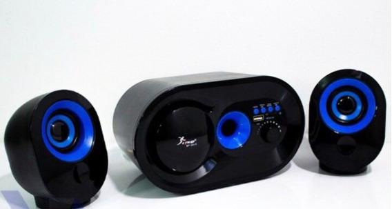 Caixa De Som Portatil Bluetooth 2.1 Mp3 Fm Pc Micro System 1