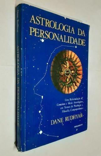 Livro Astrologia Da Personalidade Dane Rudhyar