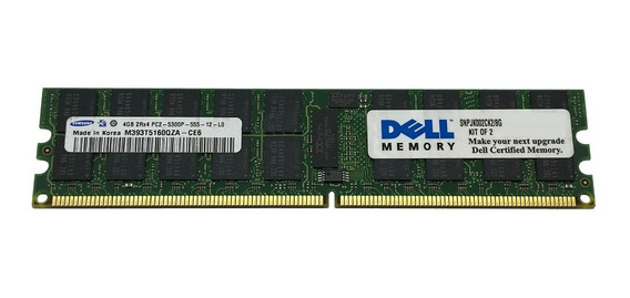 Memoria Ecc Rdimm 4gb Pc2-5300p Dell Poweredge T300 / R300