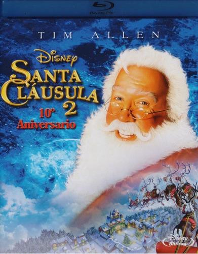 Imagen 1 de 3 de Santa Clausula 2 Dos Tim Allen Pelicula Blu-ray