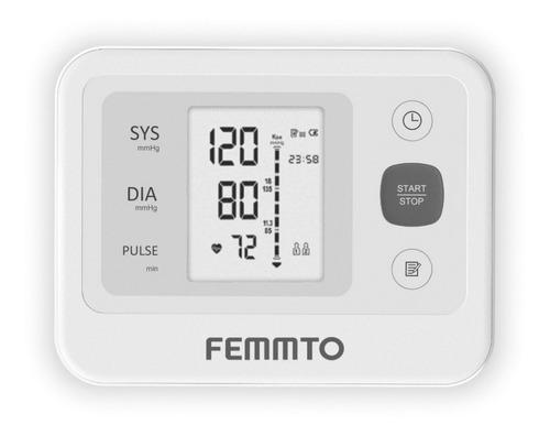 Tensiómetro Digital De Brazo Femmto Yk-bpa3 Anmat Gtía Full