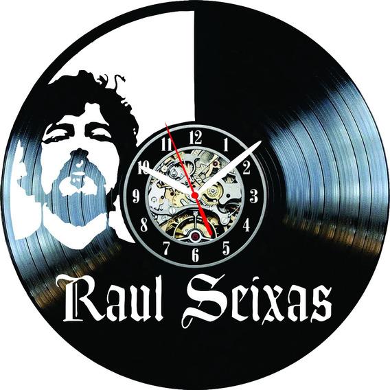 Relógio Parede, Disco Vinil, Raul Seixas, Musica, Decoração