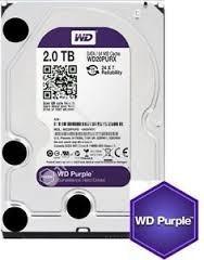 Disco Duro Wd Purpura, 2tb - Wd20purx -  Entrega Inmediata