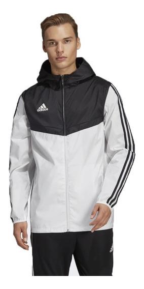 Jaqueta Corta Vento Masculina Branco/preto Impermeável