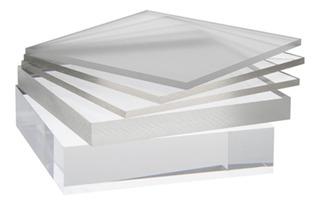 Acrílico Transparente Lámina 60 X 120 Cm Grosor 3 Mm