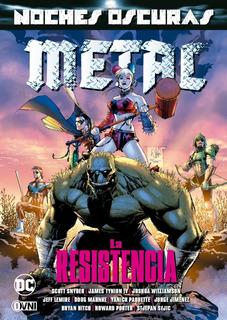 Cómic, Dc, Batman Noches Oscuras Metal Vol. 2 Ovni Press