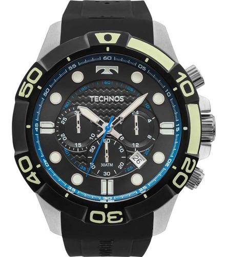 Relógio Novo Technos Acqua Js25bq/8p 30 Atm