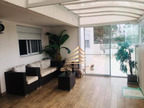 Apartamento Garden À Venda, 161 M² Por R$ 790.000,00 - Vila Augusta - Guarulhos/sp - Gd0005