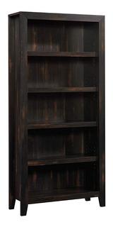 Librero Mueble De Estantes Cafe Sauder 422595