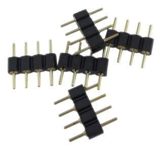 Conector 4 Pin Rgb X 10 Unidades Para Tiras De Leds