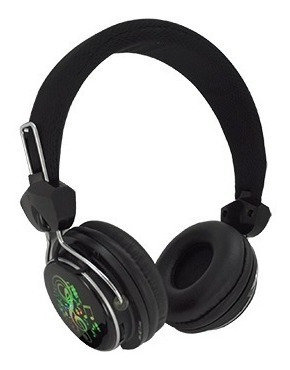 Fone Ouvido Satellite Ae-862b Sport/ Bluetooth/ Led/ Microsd